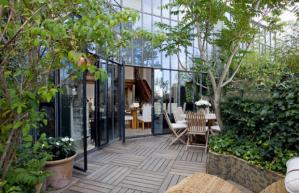 La terrasse de l'atelier de Barthélémy disponible sur SnapEvent.fr