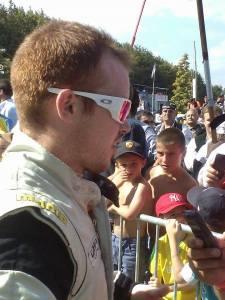Steven Bossard, vainqueur à Lohéac en 2014 dans la catégorie Super 1600