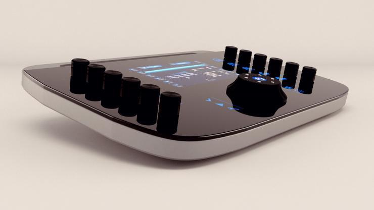 La console EFIT permet de régler l'intensité des signaux électriques des électrodes.