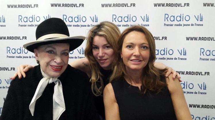 Geneviève de Fontenay, Lola Marois Bigard et notre invitée du jour Valérie Durier