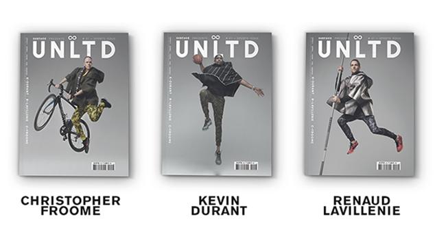 UNLTD propose 3 couvertures différentes